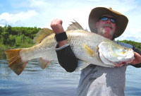 Daly River Barra Resort offers local fishing guides and knowledge