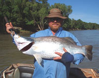Fishing trips on the Daly River NT near Woolianna