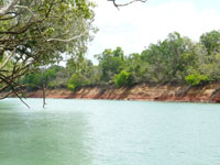 Barramundi fishing charters on the Daly River Northern Territory