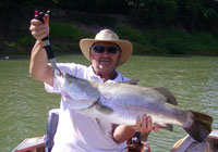 The Daly River is where to catch a Barrramundi
